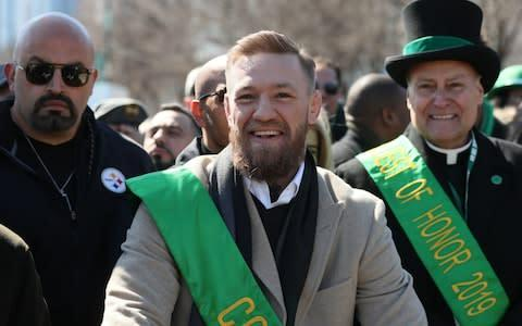 <span>McGregor hails from humble beginnings in Crumlin, a south Dublin suburb</span> <span>Credit: PA </span>