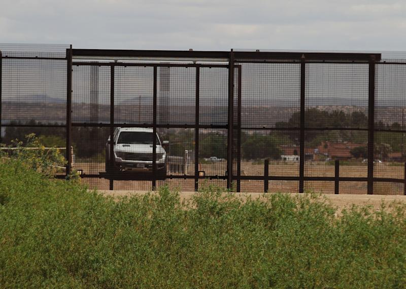 U.S. Border Patrol vehicle