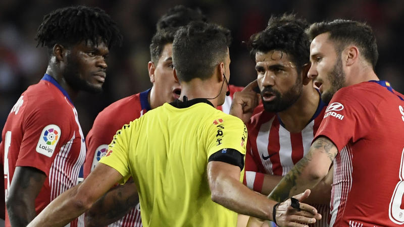 Diego Costa's ban is 'too severe', says Atletico Madrid teammate Thomas Partey