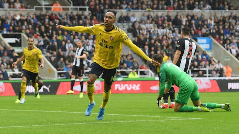 Arsenal 'working on' new Aubameyang and Lacazette contracts - Emery