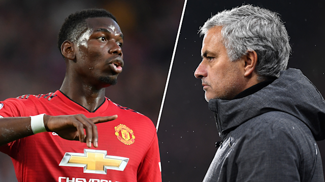 Manchester United have denied reports that Paul Pogba and Jose Mourinho's relationship has soured even further