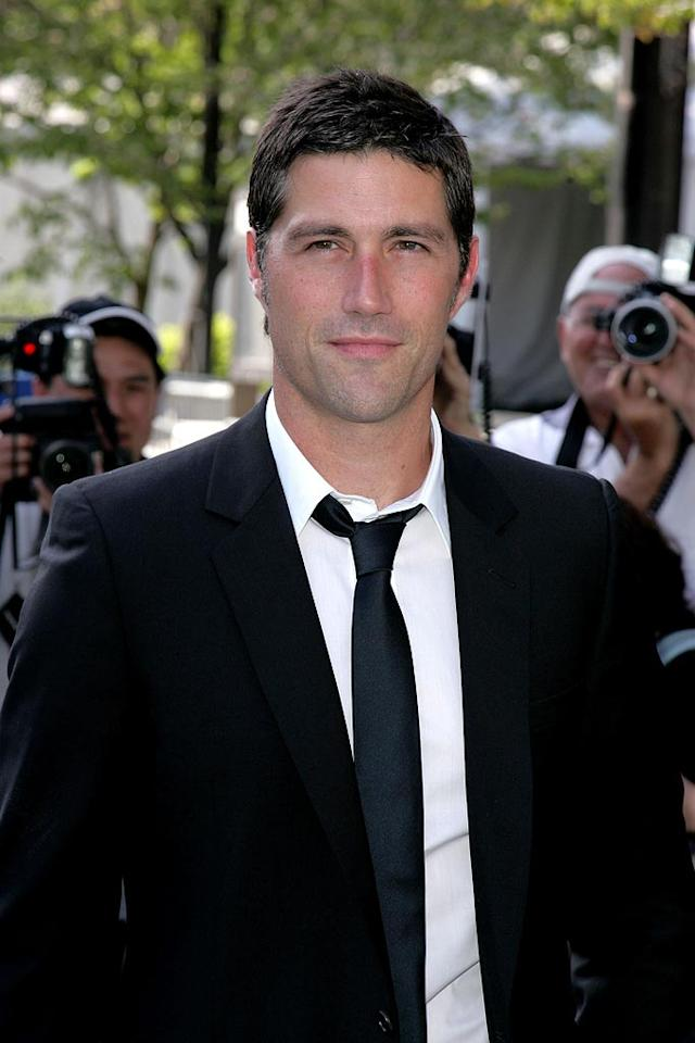 """Who wouldn't want to be stuck on a desert island with """"Lost"""" hunk Matthew Fox? James Devaney/<a href=""""http://www.wireimage.com"""" target=""""new"""">WireImage.com</a> - May 15, 2007"""