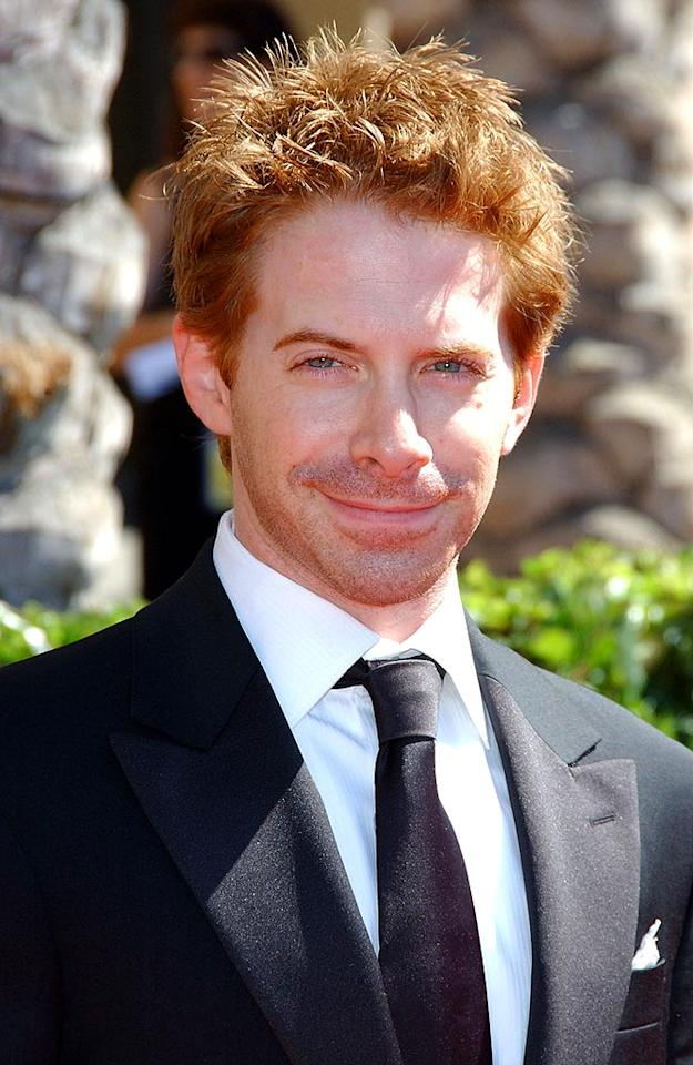 "Seth Green shows off a devilish 'do along with his trademark smirk. Albert L. Ortega/<a href=""http://www.wireimage.com"" target=""new"">WireImage.com</a> - September 8, 2007"