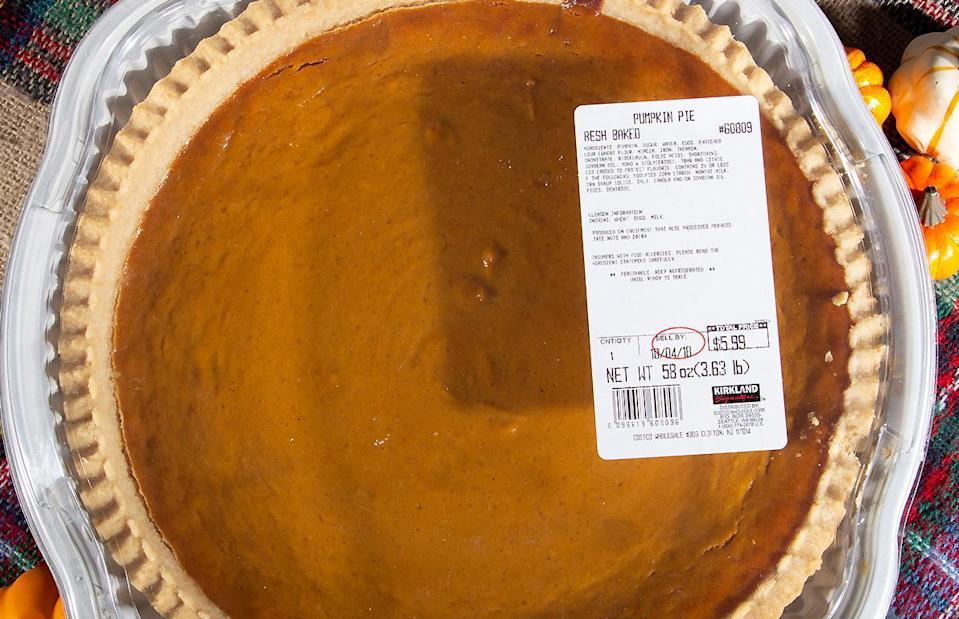 "<p>Costco pumpkin pies are preservative free, which is why the pies are always refrigerated. But did you know that you can actually freeze pie fairly easily? It's the perfect way to <a href=""https://www.thedailymeal.com/holidays/thanksgiving-dishes-you-can-make-ahead-and-freeze?referrer=yahoo&category=beauty_food&include_utm=1&utm_medium=referral&utm_source=yahoo&utm_campaign=feed"" rel=""nofollow noopener"" target=""_blank"" data-ylk=""slk:get ahead on some Thanksgiving prep"" class=""link rapid-noclick-resp"">get ahead on some Thanksgiving prep</a>.</p>"