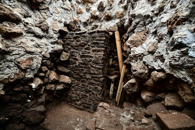 Natural disaster  uncovers ancient temple hidden in Mexican pyramid