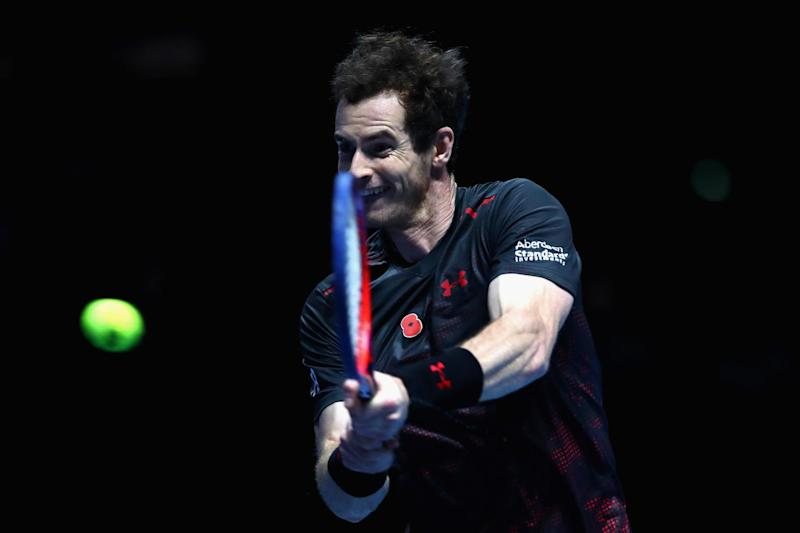 Comeback trail: Murray has not played competitively since Wimbledon: Getty Images for Andy Murray Live
