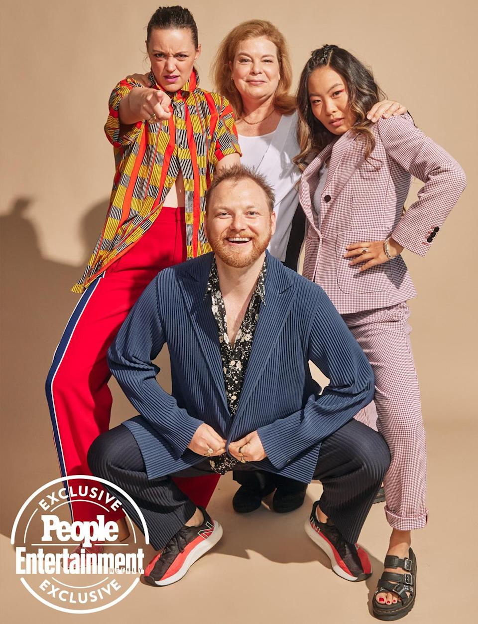 <p>Eleanore Pienta, Colin Kane Healey, Catherine Curtin and Nicole Kang </p>
