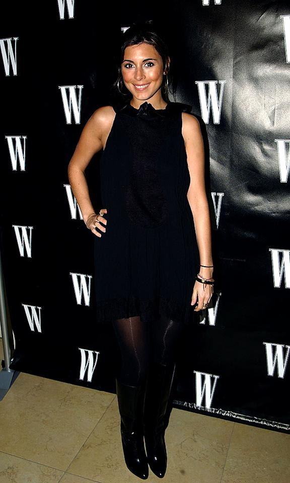 """Jamie-Lynn Sigler dons a fabulous black frock and sexy boots for the soiree. The former """"Sopranos"""" star never seems to miss a party! Mike Guastella/<a href=""""http://www.wireimage.com"""" target=""""new"""">WireImage.com</a> - February 20, 2008"""