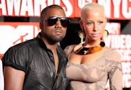 """<p>After calling off his engagement with Alexis and being linked to Sessilee, Kanye began a two-year-long relationship with Amber Rose. For a second there, it really seemed like they were in it for the long haul. Sadly, their 2010 breakup was not amicable, since she accused him of cheating on her with future wife <a class=""""link rapid-noclick-resp"""" href=""""https://www.popsugar.com/Kim-Kardashian"""" rel=""""nofollow noopener"""" target=""""_blank"""" data-ylk=""""slk:Kim Kardashian"""">Kim Kardashian</a>. Their drama-heavy split later went on to inspire songs like """"Blame Game"""" on <strong>My Beautiful Dark Twisted Fantasy</strong> (which has lyrics referencing the Philly native like, """"You always said / 'Yeezy, I ain't your right girl' / 'You'll probably find one of them """"I like art""""-type girls' / All of the lights, she-was-caught-in-the-hype girl / And I was satisfied being in love with the lie""""). </p> <p>The bad blood between them simmered for years until it finally boiled over after Amber <a href=""""http://www.eonline.com/news/681903/amber-rose-talks-khloe-kardashian-feud-it-shouldn-t-have-gotten-that-far"""" class=""""link rapid-noclick-resp"""" rel=""""nofollow noopener"""" target=""""_blank"""" data-ylk=""""slk:called Kylie Jenner and Tyga's relationship &quot;inappropriate.&quot;"""">called Kylie Jenner and Tyga's relationship """"inappropriate.""""</a> Kanye made awful, slut-shaming comments about Amber, and later <a href=""""https://www.popsugar.com/celebrity/Kanye-West-Twitter-Feud-Wiz-Khalifa-39965958"""" class=""""link rapid-noclick-resp"""" rel=""""nofollow noopener"""" target=""""_blank"""" data-ylk=""""slk:got in an epic Twitter feud with her ex Wiz Khalifa"""">got in an epic Twitter feud with her ex Wiz Khalifa</a> in January 2016. Things have calmed down between them since then.</p>"""