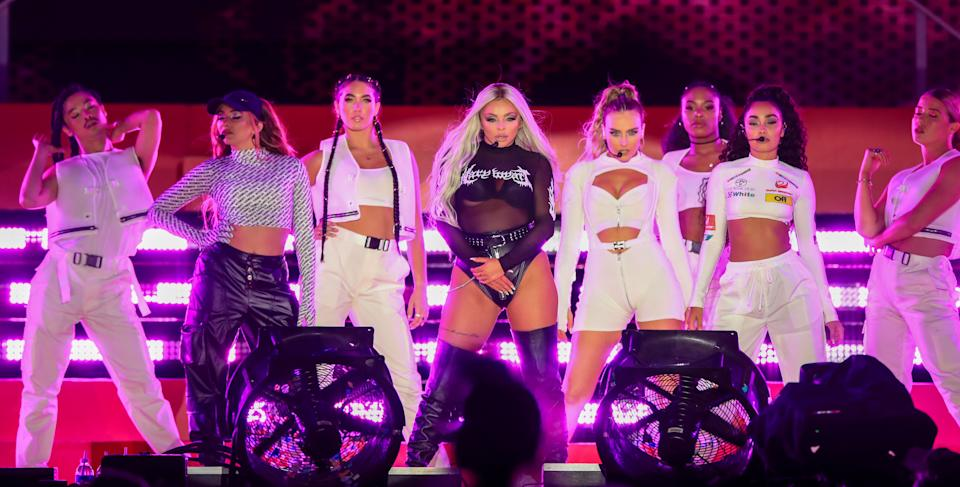 Little Mix perform at Fusion Festival in Sefton Park, Liverpool. (Photo by Peter Byrne/PA Images via Getty Images)