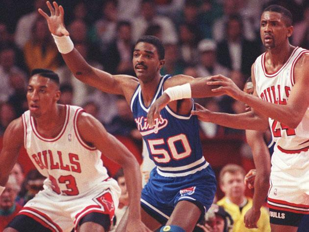 The Chicago Bulls, in 1989. (Getty Images)