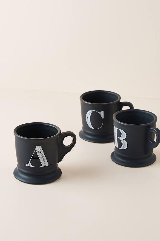 """<p><strong>Anthropologie</strong></p><p>anthropologie.com</p><p><strong>$10.00</strong></p><p><a href=""""https://go.redirectingat.com?id=74968X1596630&url=https%3A%2F%2Fwww.anthropologie.com%2Fshop%2Fnoir-monogram-mug&sref=https%3A%2F%2Fwww.delish.com%2Ffood-news%2Fg31157168%2Fanthropologie-kitchen-sale-february-2020%2F"""" target=""""_blank"""">BUY NOW</a></p><p>You can never have too many mugs. I don't make the rules.</p>"""