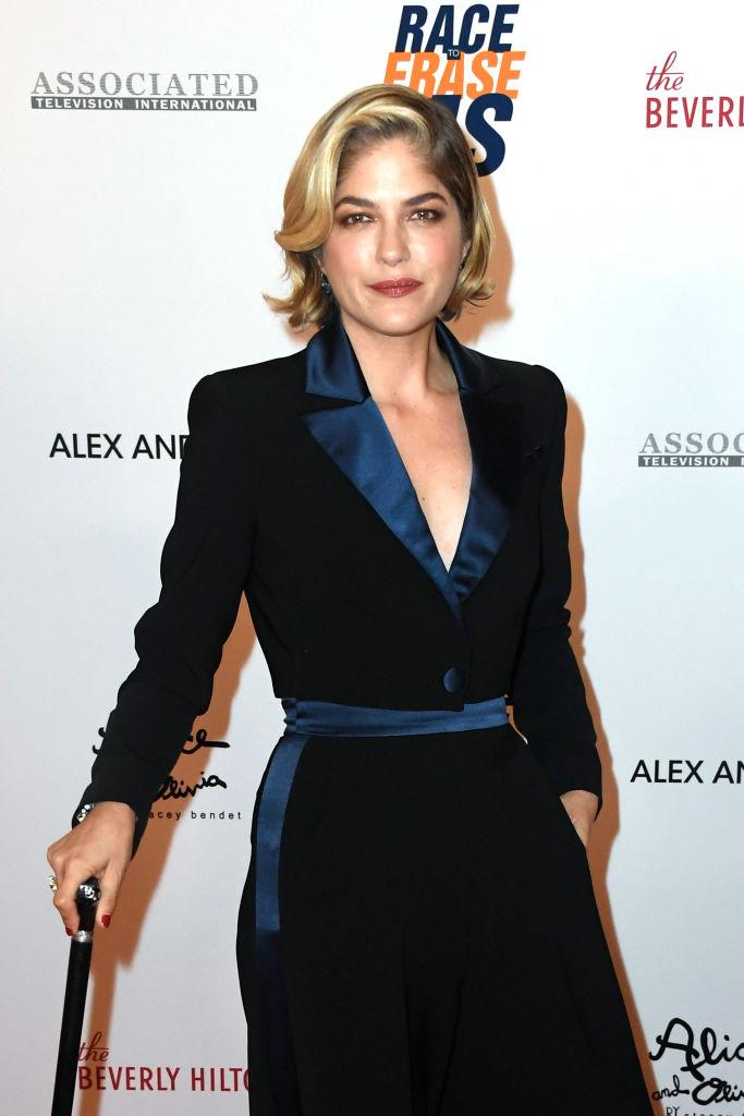 Selma Blair was diagnosed with MS in 2018. (Photo: Frazer Harrison/Getty Images for Race To Erase MS)