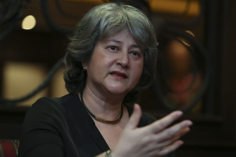 British High Commissioner Vicki Treadell said the UK Medical Research Council grant is 'the latest example of collaboration between the UK and Malaysia in healthcare and technology.' — Picture by Yusof Mat Isa