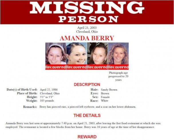 PHOTO: In April 2003, Castro kidnapped 16-year-old Amanda Berry as she was walking home from her job at Burger King. (FBI)