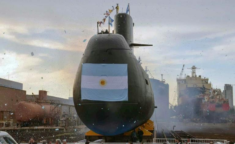 An argentine submarine missing since 48 hours
