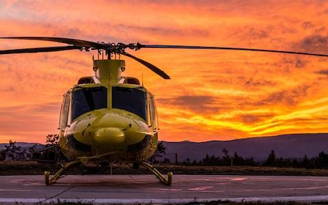 A helicopter at sunset - Credit: istock