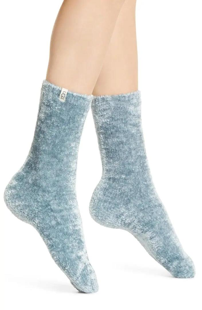 <p>These <span>UGG Leda Cozy Socks</span> ($18) are perfect for the person who loves to be cozy.</p>