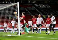 Harry Maguire should have put Manchester United ahead