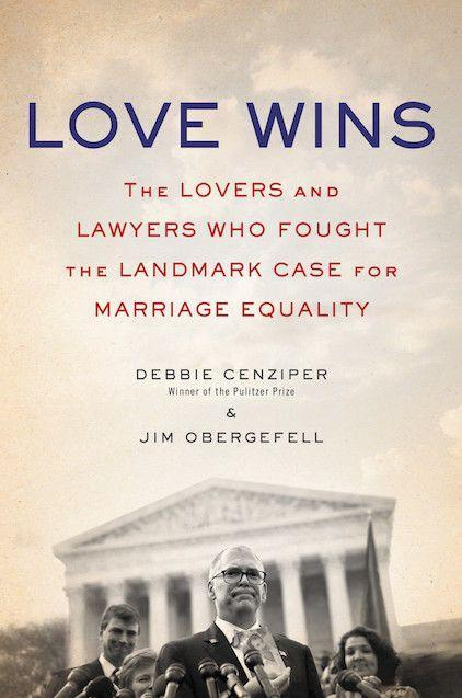 """<p><em><strong>Love Wins: The Lovers and Lawyers Who Fought the Landmark Case for Marriage Equality</strong></em></p><p>By Debbie Cenziper and Jim Obergefell</p><p>It's hard to believe that it's only been a year since the Supreme Court made same-sex marriage legal across the United States. <em>Love Wins</em> tells the story of the case at the heart of that legislation: Obergefell v. Hodges.</p><p>20 years ago in Ohio, Jim Obergefell and John Arthur fell in love. In 2013, the Supreme Court mandated that the federal government provide gay couples with all the benefits offered to straight couples. Jim and John, who was dying of ALS, flew to Maryland, where same-sex marriage was already legal. But the state of Ohio refused to recognise their marriage; nor would it list Jim's name on John's death certificate. What followed was a fight for civil rights – and for the right to love – that changed America forever.</p><span class=""""copyright""""><strong>Image: Random House.</strong></span>"""