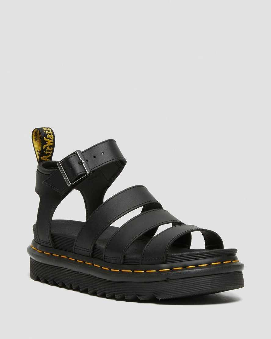 """<h2>Doc Martens Sandals</h2><br>It's a good thing Doc Martens sells sandals for when the weather gets too hot for their iconic boots — even though that doesn't stop some die-hard fans. These sandals match any and all outfits, giving them a hard-core look. <br><br><em>Shop <strong><a href=""""https://www.drmartens.com/us/en/"""" rel=""""nofollow noopener"""" target=""""_blank"""" data-ylk=""""slk:Dr Martens"""" class=""""link rapid-noclick-resp"""">Dr Martens</a></strong></em><br><br><strong>Dr Martens</strong> BLAIRE HYDRO LEATHER GLADIATOR SANDALS, $, available at <a href=""""https://go.skimresources.com/?id=30283X879131&url=https%3A%2F%2Fwww.drmartens.com%2Fus%2Fen%2Fp%2F24235001"""" rel=""""nofollow noopener"""" target=""""_blank"""" data-ylk=""""slk:DR MARTENS"""" class=""""link rapid-noclick-resp"""">DR MARTENS</a>"""