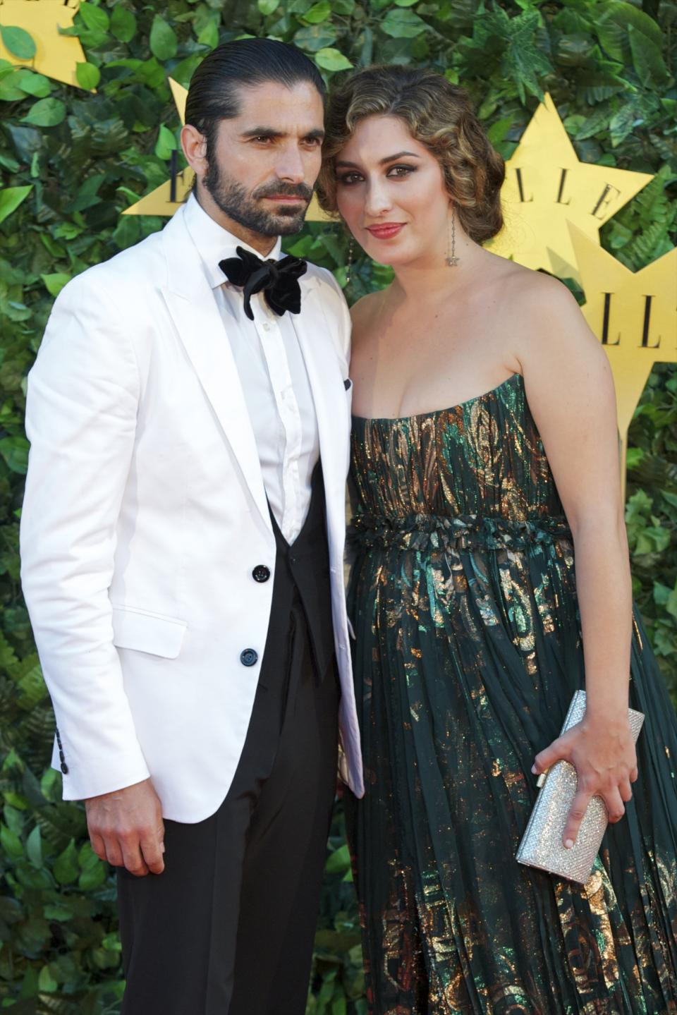 MADRID, SPAIN - JUNE 30:  Spanish flamenco singer Estrella Morente and her husband Spanish bullfigther Javier Conde attend ELLE Awards 25th Anniversary at the Matadero cultural center on June 30, 2011 in Madrid, Spain.  (Photo by Carlos Alvarez/Getty Images)