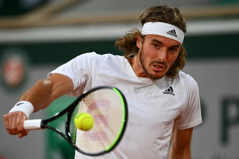 Stefanos Tsitsipas beat Daniil Medvedev for just the second time in eight meetings