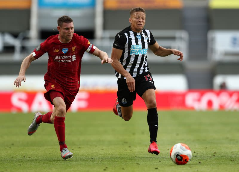 Champions Liverpool end season with 3-1 win over Newcastle