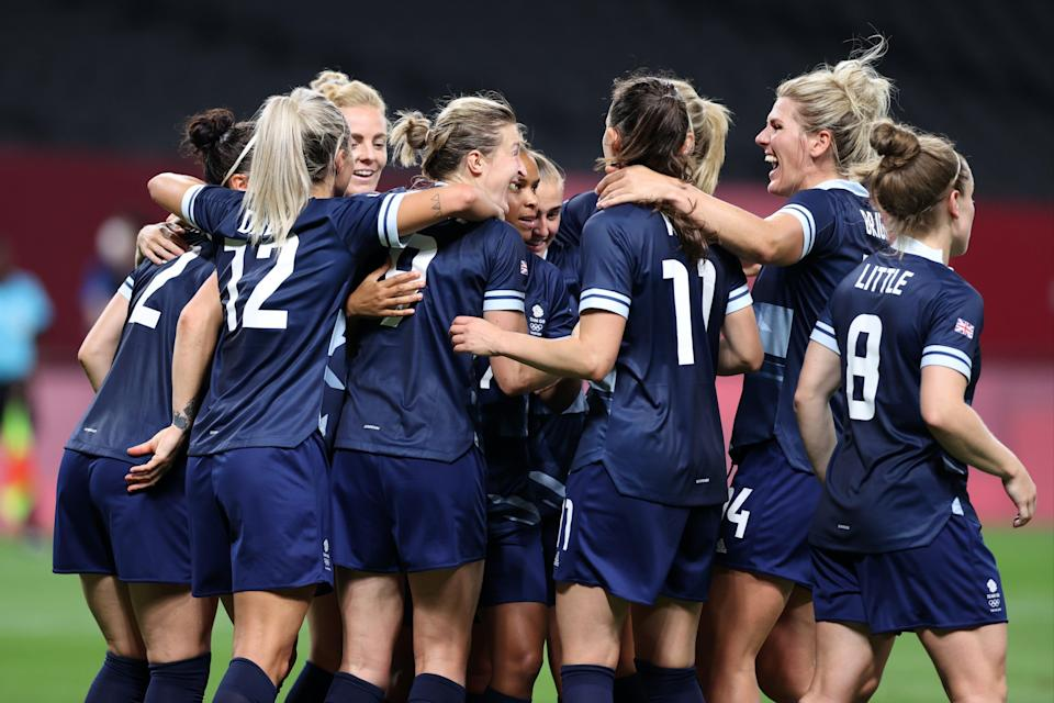 Team GB women's football team beat Chile 2-0 in their opening match (Getty Images)
