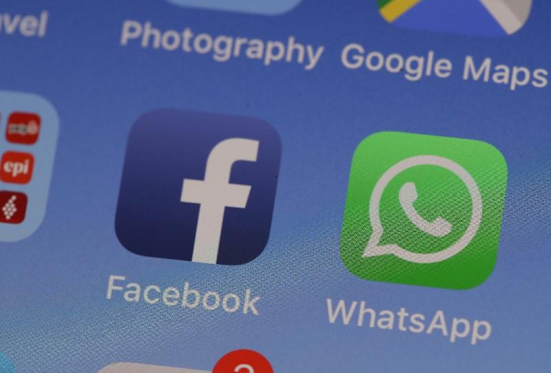Facebook said it would stop pre-installation of its apps on Huawei devices to comply with US sanctions imposed over national security concerns (AFP Photo/JUSTIN SULLIVAN)