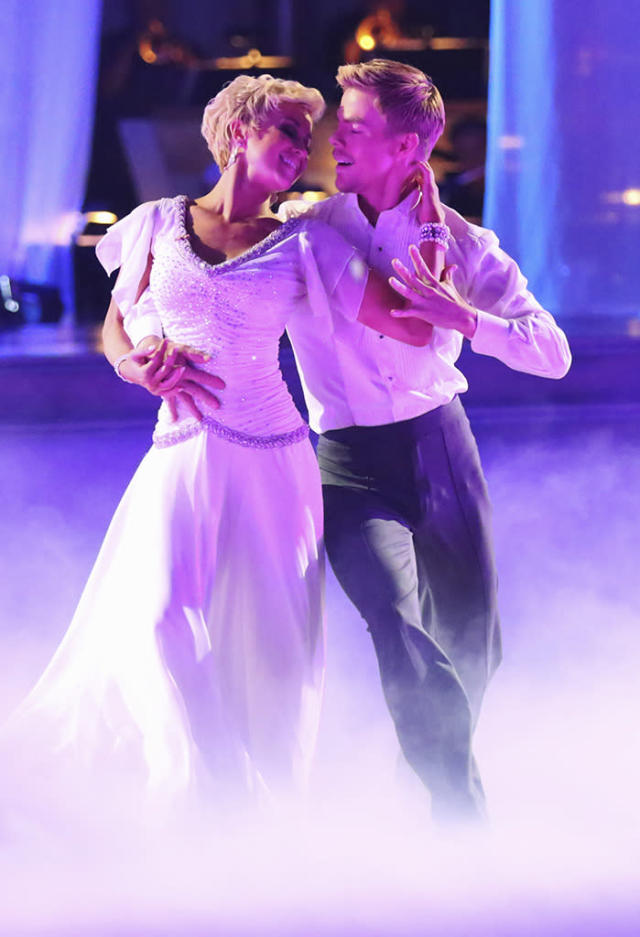 """Kellie Pickler and Derek Hough perform on """"Dancing With the Stars."""""""