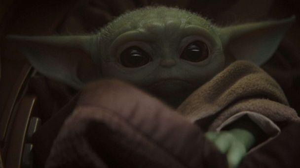 PHOTO: A creature referred to as 'Baby Yoda' has become a popular character on the Disney+ show, 'The Mandalorian.' (Disney+)