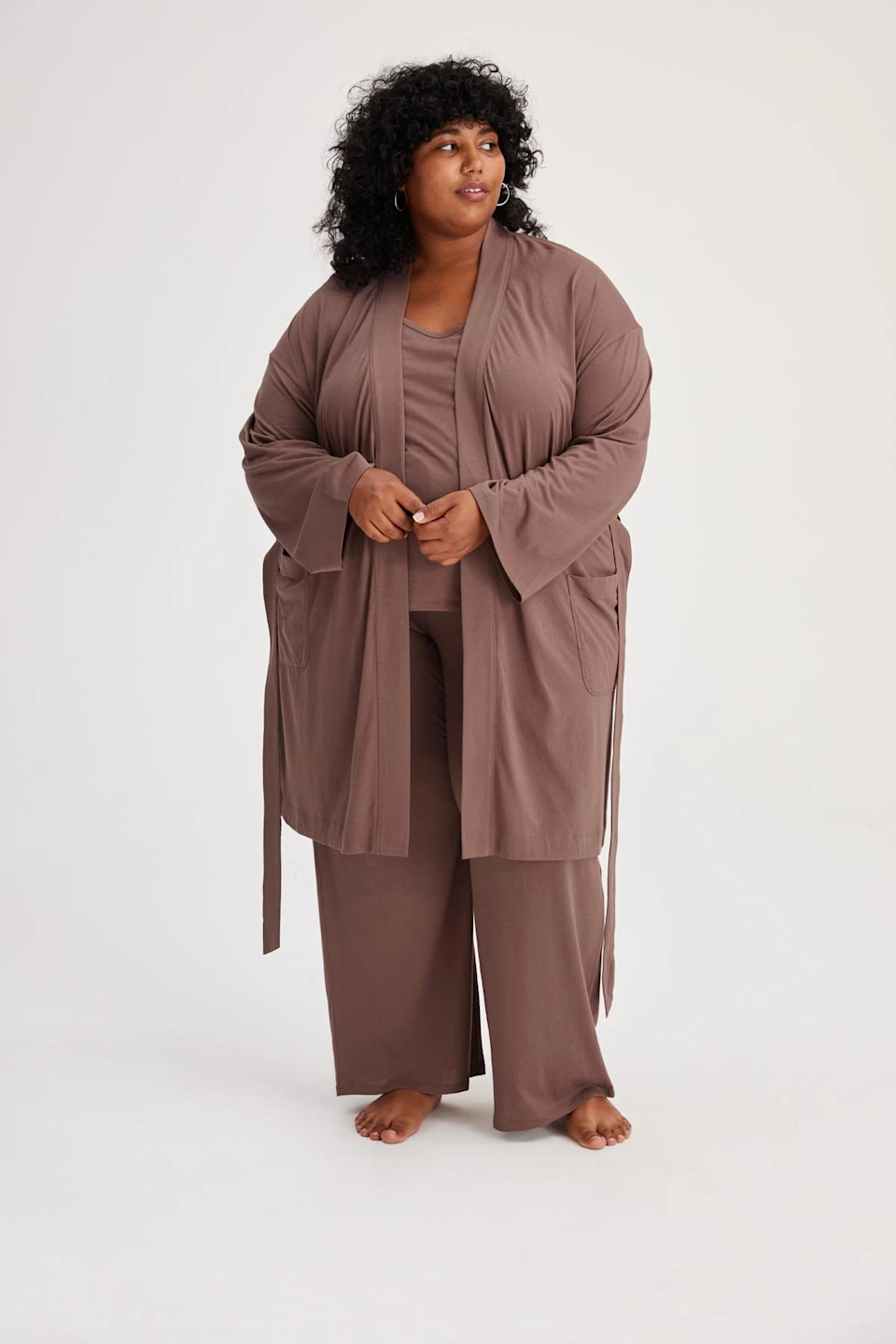 """<br><br><strong>Girlfriend Collective</strong> Canopy Dream Robe, $, available at <a href=""""https://go.skimresources.com/?id=30283X879131&url=https%3A%2F%2Fwww.girlfriend.com%2Fproducts%2Fcanopy-dream-robe"""" rel=""""nofollow noopener"""" target=""""_blank"""" data-ylk=""""slk:Girlfriend Collective"""" class=""""link rapid-noclick-resp"""">Girlfriend Collective</a>"""