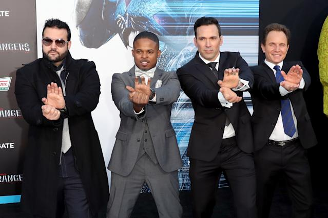 Original Mighty Morphin Power Rangers reunion