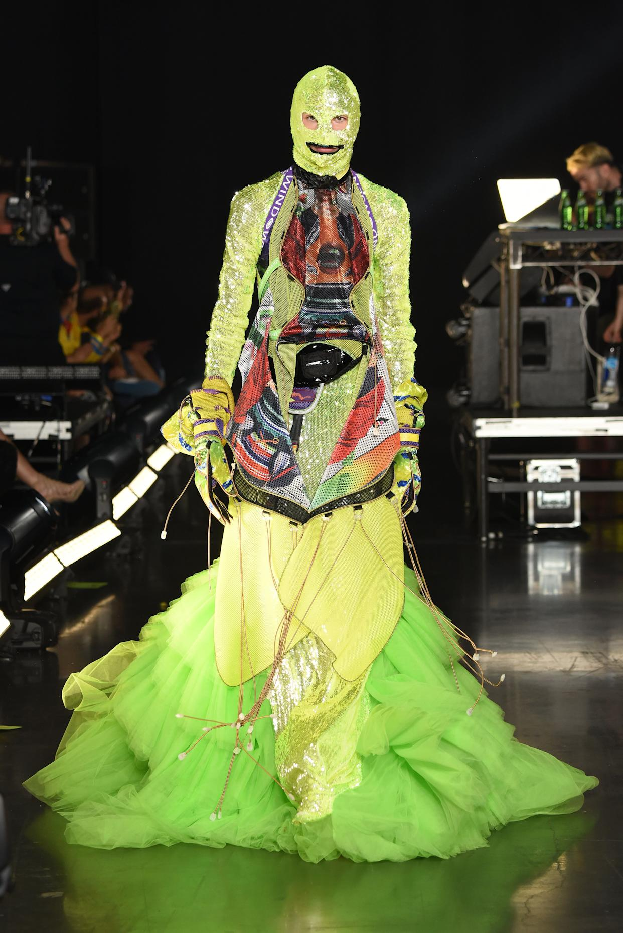Designer Sensen Lii of Windowsen was <span>inspired by aliens and monsters</span> (and maybe <span>Gucci</span>?) for his show (part of the VFIles presentation) on Sept. 5 in Brooklyn.&amp;nbsp;