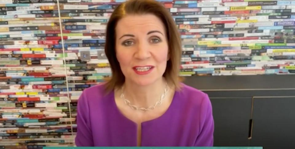 Julia Hartley-Brewer on This Morning (Photo: ITV)