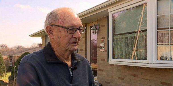PHOTO: An 88-year-old veteran rescues a girl from pit bull attack using lawn ornament. (WEWS)
