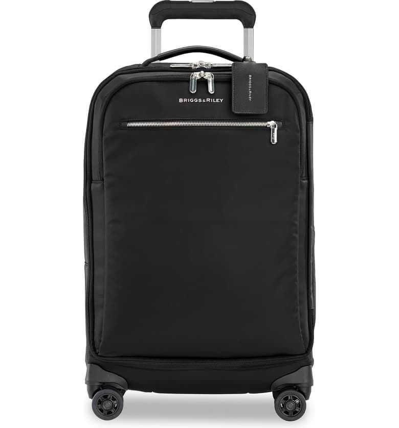 <p>At only 6.3 pounds, this <span>Briggs &amp; Riley Spinner 22-Inch Carry-On</span> ($399) can fit so much! The soft suitcase makes it easier to add just one more outfit.</p>