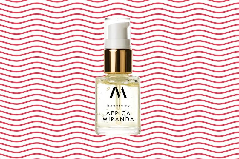 beauty by Africa Miranda Facial Elixir. (Photos: beauty by Africa Miranda; Getty Images; Art: Casey Hollister for Yahoo Lifestyle)