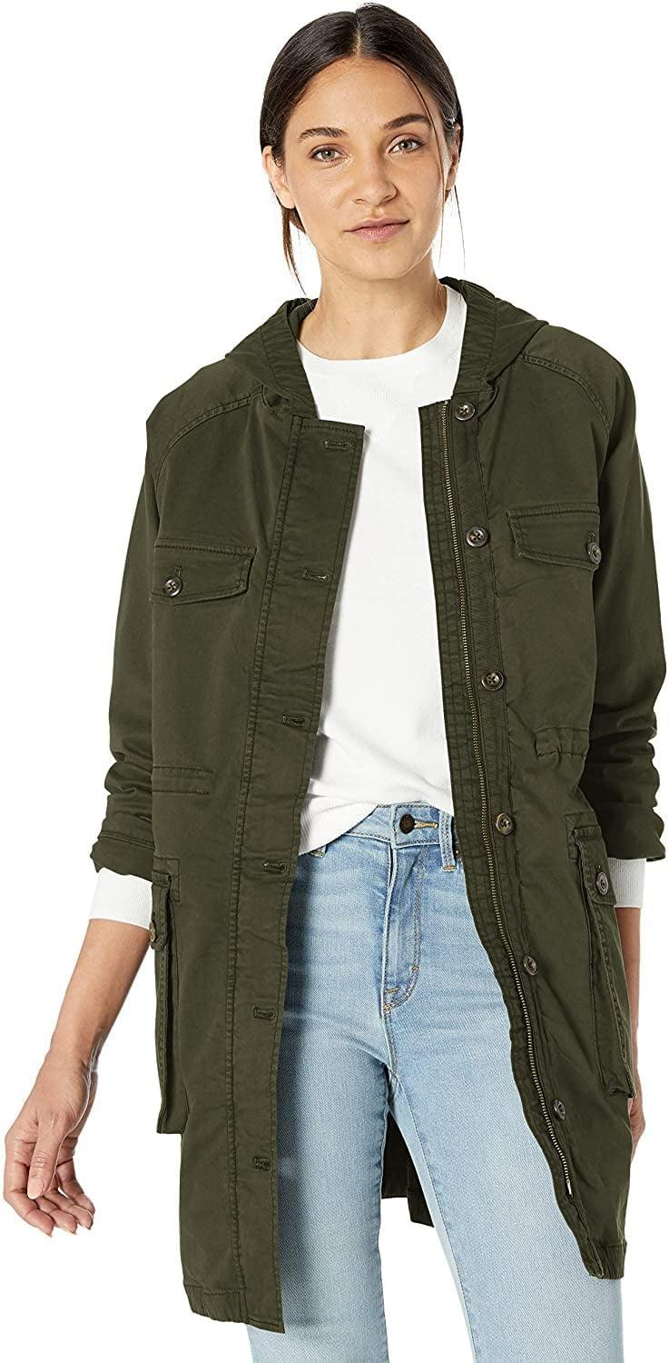 <p>This <span>Goodthreads Hooded Cargo Jacket</span> ($60) comes in tons of colors.</p>