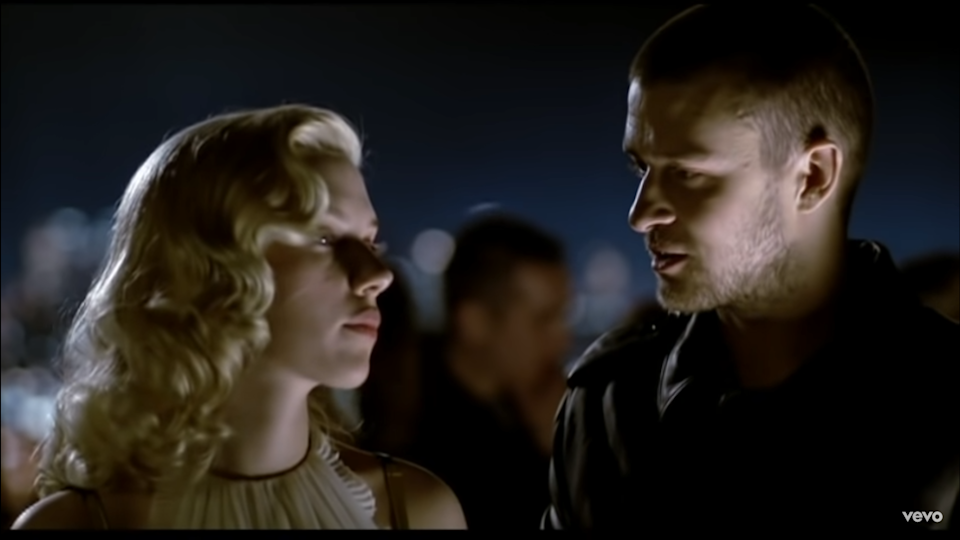 Youtube Justin Timberlake/ clip officiel What Goes Around...Comes Around