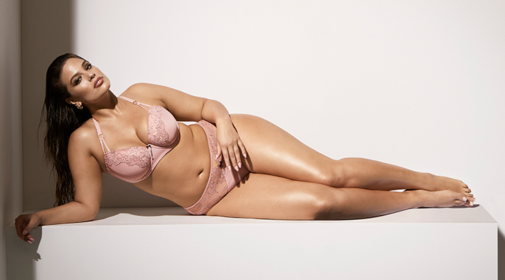 1df9acecb Ashley Graham Released a Sexy Plus-Size Lingerie Collection Just in Time  for Valentine s Day