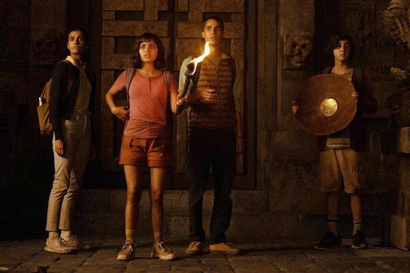 Dora and the Lost City of Gold actors talk bringing the iconic cartoon to life