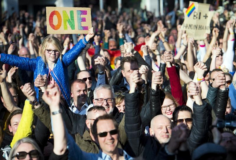 Some 2,500 people joined the demo in Arnhem