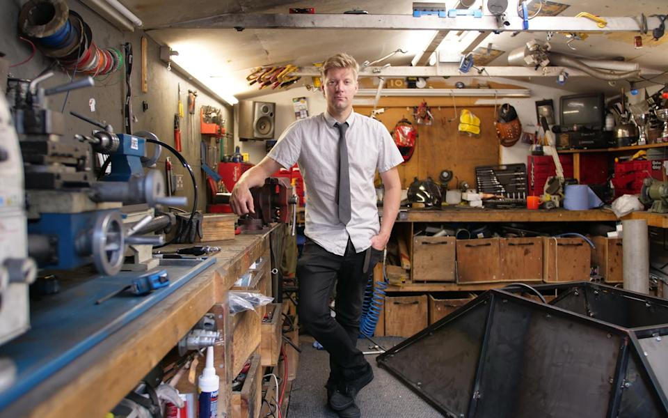 Colin Furze Workshop - Colin Furze