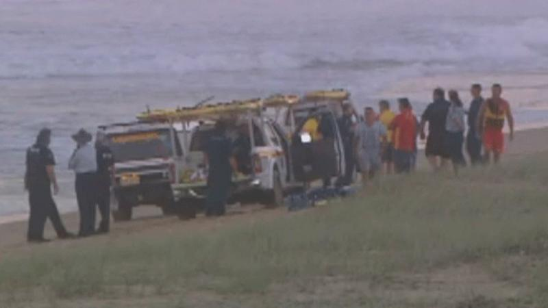 Father drowns in surf while swimming with family