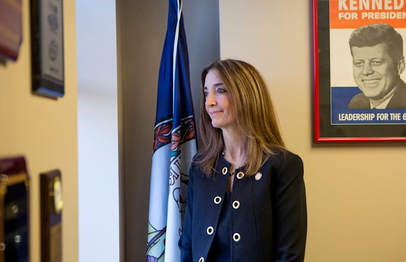 Virginia Del. Eileen Filler-Corn (D) is arguing that she has successfully steered the state House Democratic Caucus through a tumultuous year. (Photo: Julia Rendleman/The Washington Post via Getty Images)