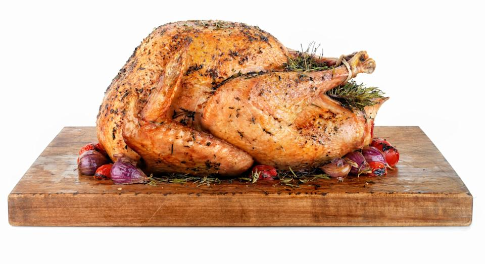 Turkeys can either be bought frozen or fresh (Getty)