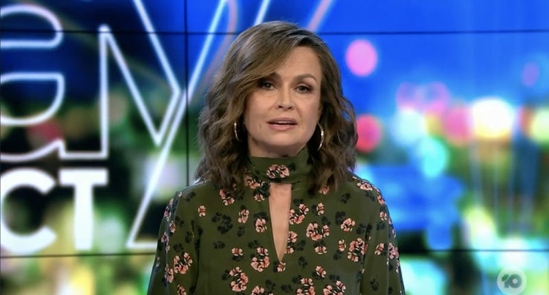 Lisa Wilkinson made an impassioned plea to supermarket giants and the public on The Project. Photo: Ten
