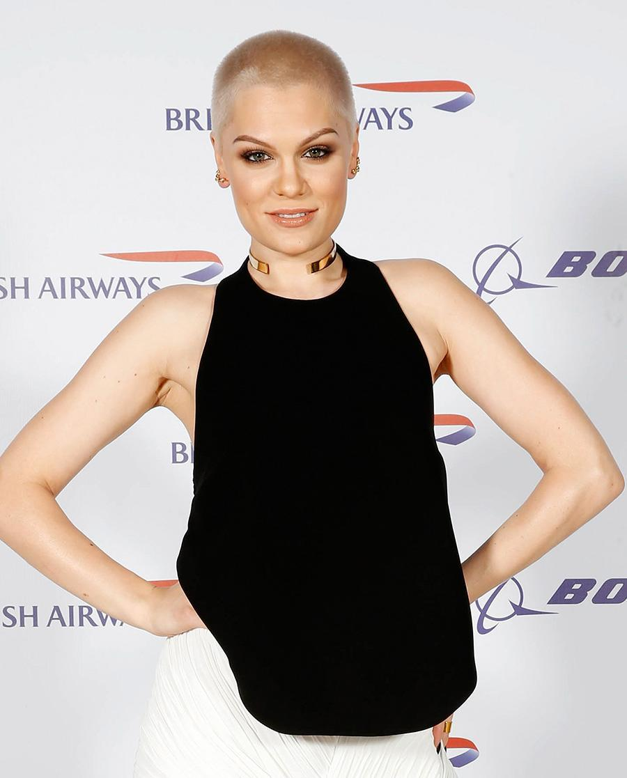 <p>In 2015, Jessie J had a blonde buzzcut very similar to the one Kristen Stewart recently debuted. (Photo: Nick England/Getty Images for British Airways) </p>
